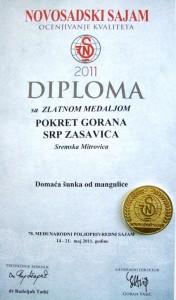 nagrada za sunku 2011